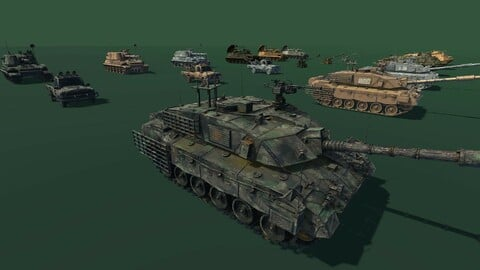 Military Vehicle Pack
