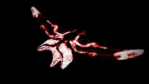 Flesh Eater - Flying Stingray Monster