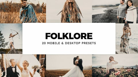 20 Folklore LUTs and Lightroom Presets