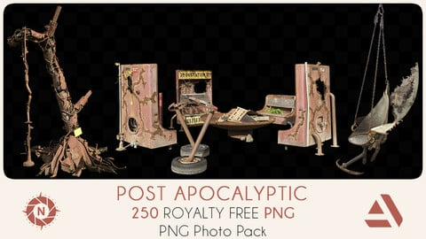 PNG Photo Pack: Post Apocalyptic