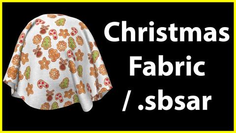 Christmas Fabric / .sbsar