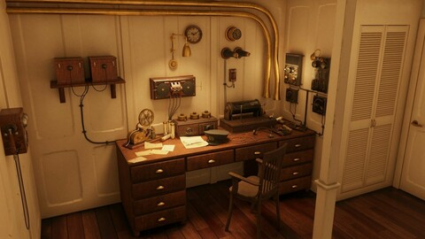 Titanic Marconi's Room