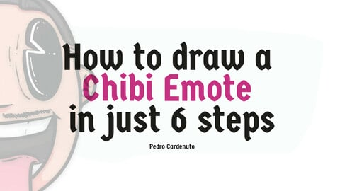 How to draw a Chibi Emote in just 6 Steps