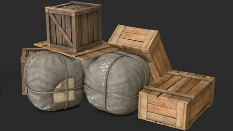 Old Bag & Crates