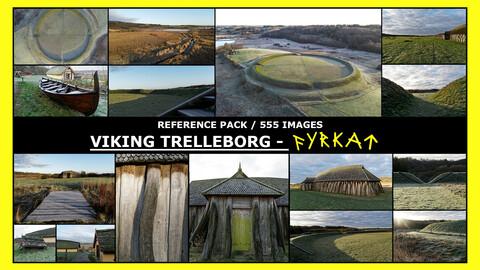 Fyrkat, Viking Trelleborg / Photo Reference / 550 images