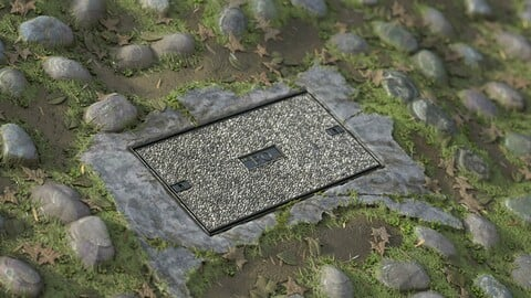 Free - Stone Manhole