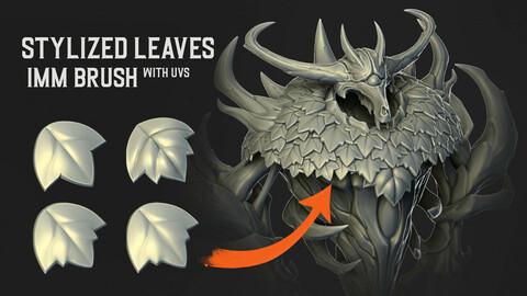 Stylized Leaves IMM Brush