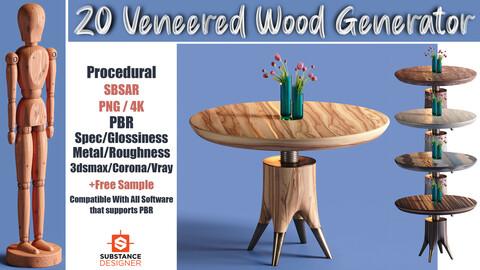 20 Veneered Wood | Vol 1