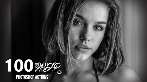 100 HDR Photoshop Actions