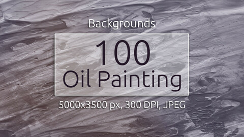 100 Oil Painting Backgrounds
