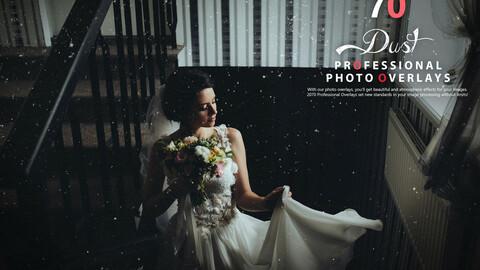 70 Dust Photo Overlays