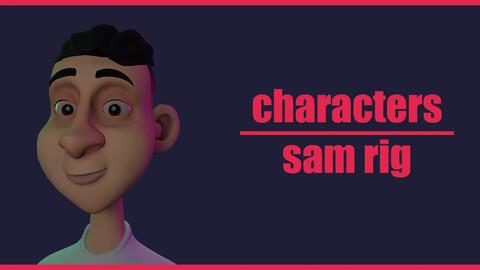 sam-characters