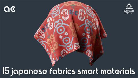 Japanese Fabrics Smart Materials Collection   15 Smart Materials