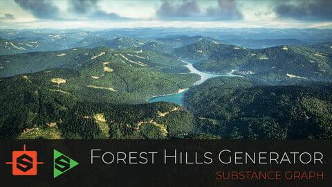 Forest Hills Generator - Substance Designer