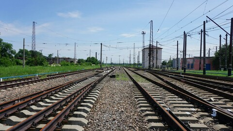 Railway Station and Railroad [Photo Pack]