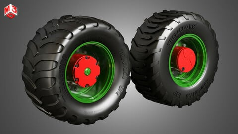 Truck Tires and Wheels-T05