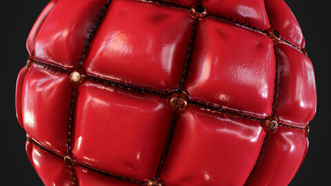 PBR Leather FORNITURE (3 Colors) 4K  MATERIAL