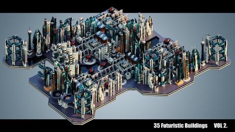 Futuristic Buildings VOL. 2