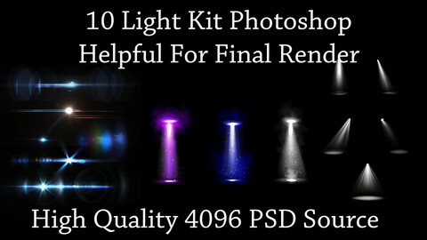 10 Light Kits For The Last Stage - Final Rendering - Part 01