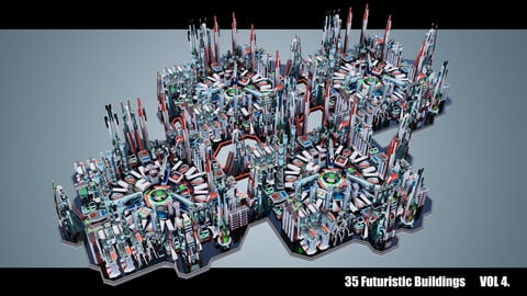 Futuristic Buildings VOL. 4
