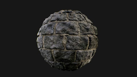 Medieval castle stonewall texture