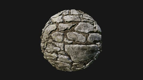 Limestone wall seamless texture