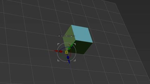 Create Qcube on a Grid (Optimised to match UE4 grid)