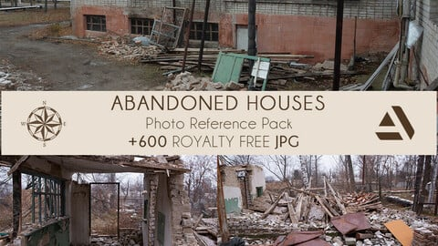 Photo/Textures Reference Pack: Abandoned Houses