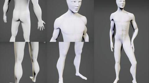 Base Model - Man.