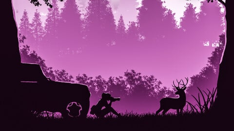 Into The Wild (Purple Edition)