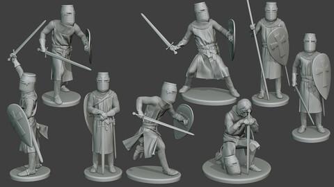 Knight Templar T1 Pack1