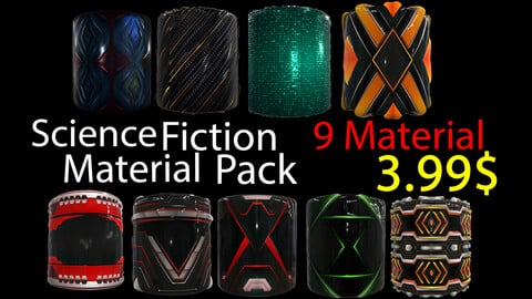 Science Fiction Material Pack / .sbsar