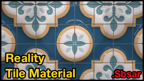 Reality Tile Material / v2 / .sbsar