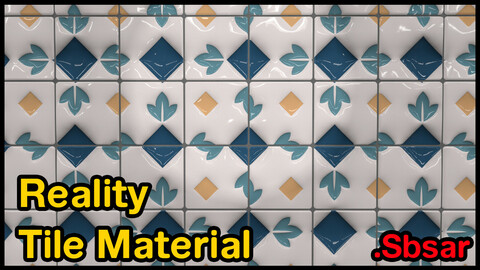 Reality Tile Material / v5 / .sbsar