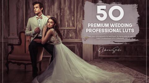 50 Premium Wedding LUTs Pack