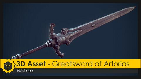3D Asset - Greatsword of Artorias