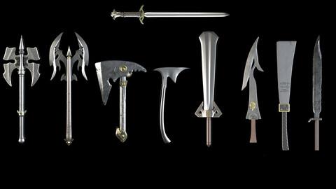 Sword and Axe Vol 01