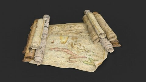 Old Caribbean Maps