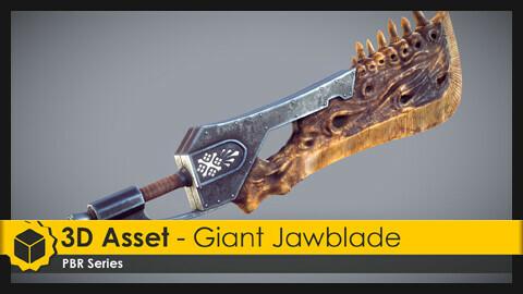 3D Asset - Giant Jawblade