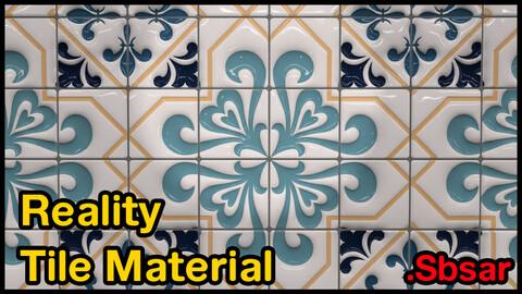 Reality Tile Material / v7 / .sbsar