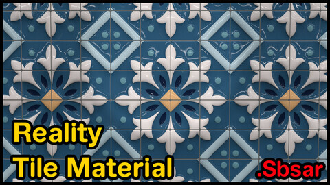 Reality Tile Material / v9 / .sbsar