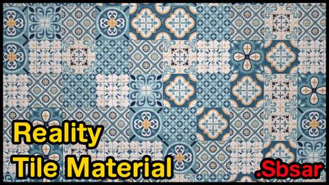 Reality Tile Material / v10 / .sbsar