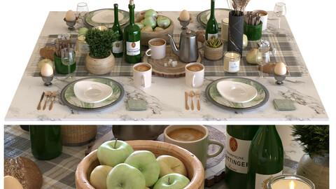 breakfast table set 001