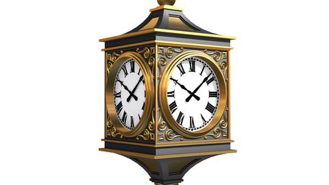 Classic Street Clock