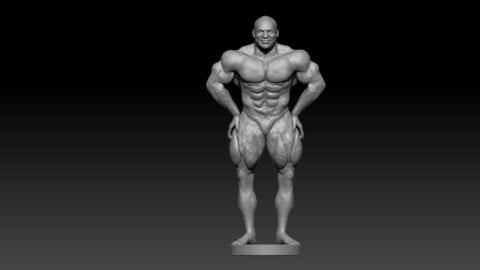 Big Ramy Body builder 3d model