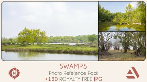Photo Reference Pack: Swamps