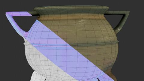 Blender Texture Breakdown material
