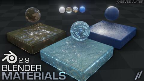 Blender 2.9 // EEVEE Water Materials