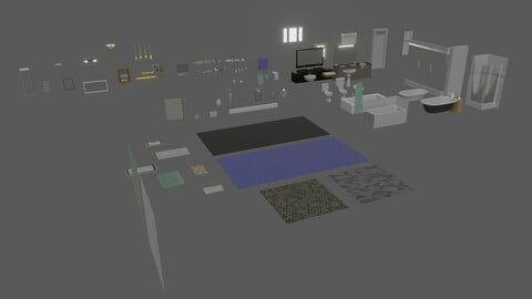 Bathroom Asset Pack