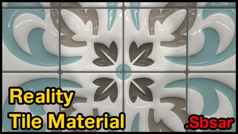 Reality Tile Material / v11 / .sbsar
